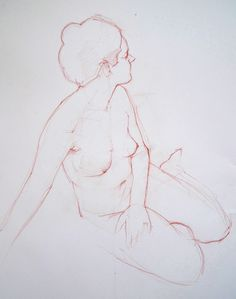 Life drawing by Wil Freeborn, via Flickr