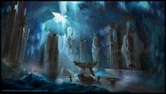 Underground Castle, Cristian Stefan on ArtStation at https://www.artstation.com/artwork/underground-castle-fd67f6c5-a304-4fa5-9fc8-2180810fdb16
