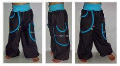 PumpButz - bequeme Spielhose, Hose, Jogginghose, Pumphose mit Taschen, 56-104