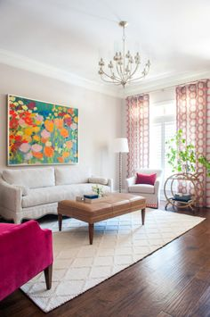 New Traditional Design Colorful Design Living Room Andria Fromm Interiors Small Living Room Design, Colourful Living Room, Home Room Design, Home Living Room, Interior Design Living Room, Living Room Designs, Living Room Decor, Indian Living Rooms, India Home Decor
