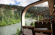 Rocky Mountaineer, Canada Train Ride  This two-day tour through the magnificent Canadian Rockies is done in daylight