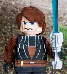 Les personnages de Star Wars recréés en Lego : Anakin Skywalker