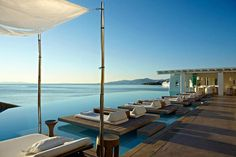 Un poquito de relax nunca viene mal, Cavo Tagoo Hotel, Mykonos.
