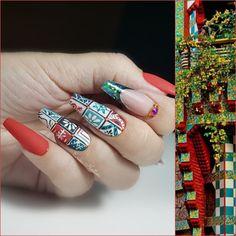 Nail Art, Nails, Painting, Beauty, Jewelry, Finger Nails, Beleza, Jewlery, Ongles