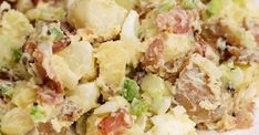 The delicious potato salad of our grandmothers - Kitchen - Tips and Crafts Grandmothers Kitchen, Dinner Recipes For Kids, Dinner Ideas, Mets, Special Recipes, Kitchen Hacks, Potato Salad, Salads, Food Porn
