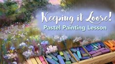 Join me in this lesson in how to keep your pastel paintings loose and impressionistic. There is so much to learn in this video as I give helpful instruction . Chalk Pastel Art, Soft Pastel Art, Pastel Artwork, Chalk Pastels, Pastel Drawing, Pastel Paintings, Soft Pastels, Painting Courses, Painting Lessons