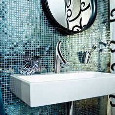 Luxury Kids Bedroom Design Ideas, Pictures, Remodel, and Decor - page 9 Bathroom Tile Designs, Bathroom Trends, Modern Bathroom, Mosaic Bathroom, Luxury Kids Bedroom, Axor Starck, Kids Bedroom Designs, Bathroom Collections, Duravit