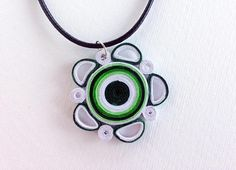 Paper Quilled Necklace Paper Quilling Jewelry Quilled
