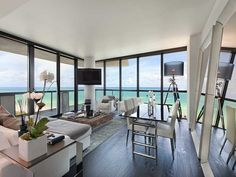 The Setai Resort and Residences is one of the tallest and posh residential buildings on the Miami Beach oceanfront. | www.condo.com/Condo-The-Setai-Resort-and-Residences-3850835