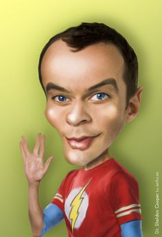 "Sheldon Cooper ""Big Bang Theory"""