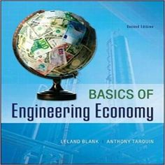 Fundamentals of engineering thermodynamics 8th edition solution manual for basics of engineering economy 2nd edition by blank and tarquin fandeluxe Choice Image