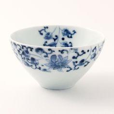 Japanese Tea Cup 160ml, Tsuki-wa Hana Karakusa