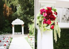 Romantic Garden-Inspired Wedding: Jackie + Keith