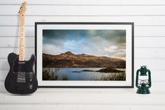 Scotland, Loch Ness, landscape, beautiful, cloudy by Anovva on Etsy