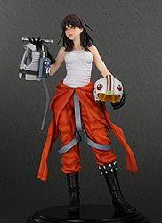 Star Wars Bishoujo PVC Figure - Jaina Solo Art FX Wave 02