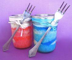 cake in a jar!