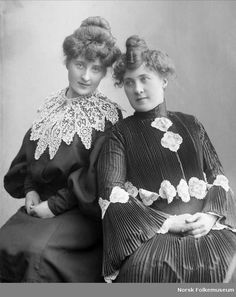Plissé, 1904 @Jill Issleb-- us as old timey french women.  lol