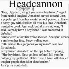 Annabeth would probably kill her first