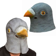 New Pigeon Mask Latex Giant Bird Head Halloween Costume