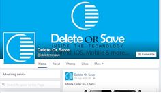 Like our #Facebook Page and also comment and give reviews @ https://www.facebook.com/deleteorsave