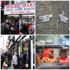Bagel Shop on Brick Lane in East London - went once with Mark would love to go again!