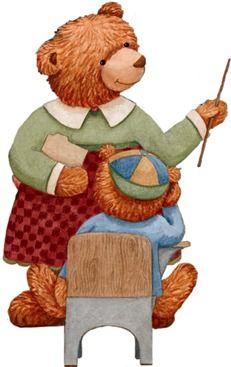 TEACHER TEDDY BEAR CLIP ART