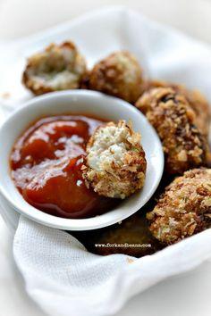 Cauliflower Tater Tots #glutenfree #vegan - Fork & Beans