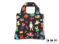Bolsa Envirosax Kids Fashion Series Reusable Bags Ping Fun