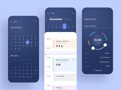 Hello everyone! This is an exploration I did recently about calendar app. This is Taski, which it rolled into the namesake app to create one centralized place for your tasks, goals, reminders, and . Ui Ux Design, Design Responsive, Interface Design, Site Design, Flat Design, Branding Design, Mobile App Ui, Mobile App Design, Design Thinking