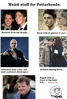 Harry Potter Humor ..... Mother of god.......
