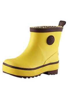 Lasten saappaat Naba Yellow Rubber Rain Boots, Ale, Wedges, Kids, Shoes, Fashion, Young Children, Moda, Boys