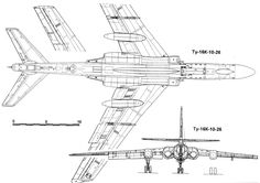 Russian Bombers, Plans, Utility Pole, 3d