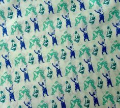 Hey, I found this really awesome Etsy listing at https://www.etsy.com/listing/463498574/sumo-wrestler-cotton-fabric-japanese