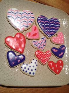 Valentines day cookies I made
