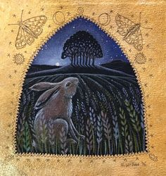 Hannah Willow | MIXED MEDIA | Wiltshire Hare
