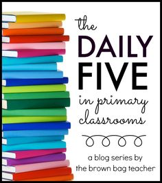 AMAZING ideas and posts for using the Daily 5 and getting started. DOZENS of posts! The Brown-Bag Teacher: The Daily 5 in Primary Classrooms Teaching First Grade, First Grade Reading, First Grade Classroom, Primary Classroom, Classroom Ideas, Classroom Organization, Classroom Management, Classroom Layout, Classroom Design