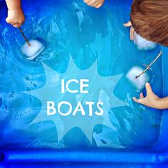 Stay cool a little longer with your kids this summer...Ice Boats!