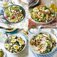 What better way to celebrate the summer than with spontaneous seaside trips, summer parties and lots of deliciously fresh salads to eat in the sunshine?