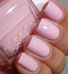 "Essie - ""No baggage please"" such a pretty pale pink nail shade"