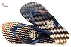 Havaianas Flip Flop/Thong Brazil - Trend, pour Hommes, Beige. 45/46 EU - Chaussures havaianas (*Partner-Link)