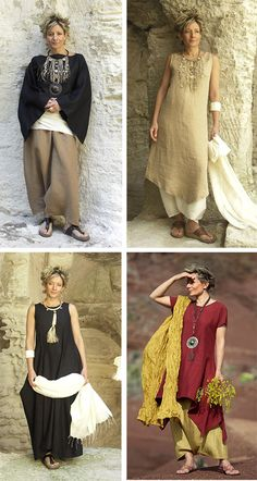 Богемный стиль для зрелых женщин