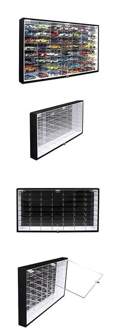 Pioneer Plastics 1//64 Clear Display Case With Mirrored Base for Transporters ...