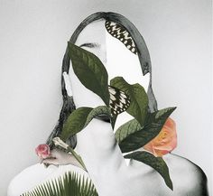 Rocío Montoya is a talented photographer, graphic designer and editor from Spain with a love for handmade collages and experimental photography. More collages via Inspiration… Collage Portrait, Collage Artists, Portraits, Botanical Illustration, Illustration Art, Framed Art Prints, Canvas Prints, Surreal Collage, Foto Fashion