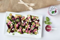 Healthy Summer Salads with Just Hummus