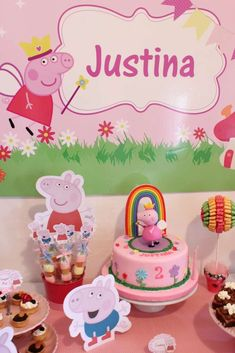 Peppa Pig Birthday Party Ideas   Photo 10 of 14   Catch My Party