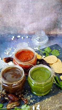 3 essential chutneys for chaat