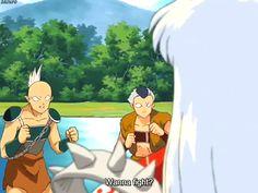 Uy...se enojo (la primera ves que vi a Sesshomaru con Bakusaiga... me dio MUCHO miedo)