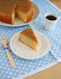 Caramel cake / Bolo de caramelo
