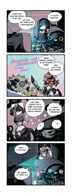 The Crawling City :: Episode 18 - Console Edition | Tapastic Comics - image 1