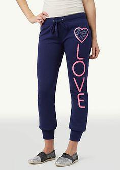 image of Heart Love Jogger Sweats